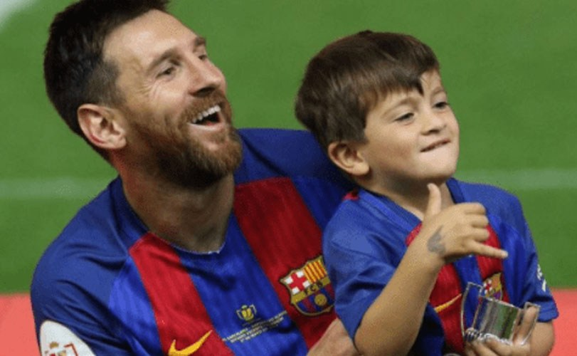 My Son Doesn't Call Me Daddy- Messi