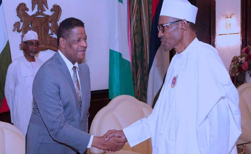 Photos: Buhari Hosts President ECOWAS Commission At The State House