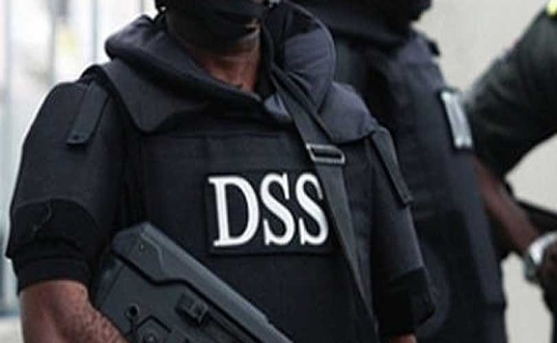 Image result for DSS Takes Over As National Assembly Staff Turns The Entrance To Football Field (Photos)