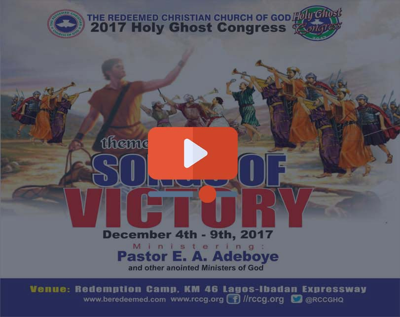 RCCG Holy Ghost Congress 2017  (Day 6 Evening)