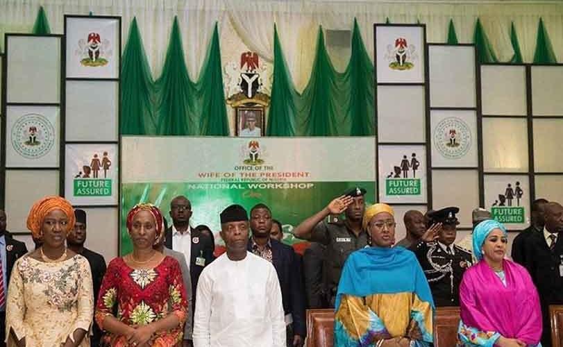 Violence: Osinbajo, Aisha Buhari seek stiff sanctions for perpetrators