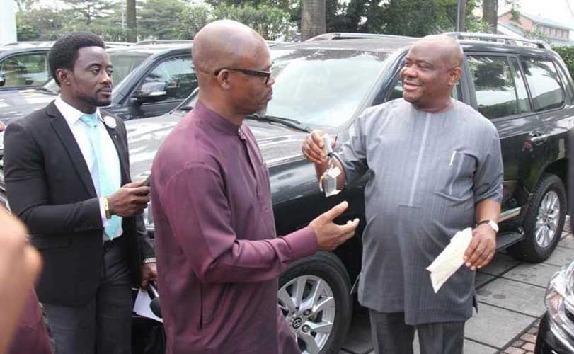 Photos: Governor Nyesom Wike releases 16 SUVs to Rivers' National Assembly members