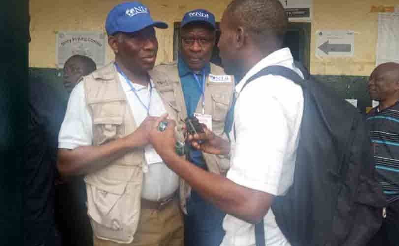 Photos: Ex-President Goodluck Jonathan as an election observer in Liberia