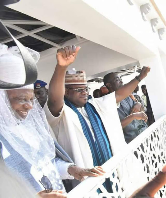 Kogi election: Buhari congratulates Governor Yahaya Bello on re-election