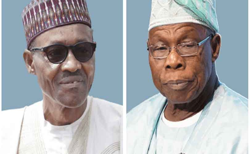 Obasanjo 'bragging' after he wasted $16bn on power –Buhari