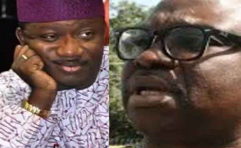 Governor Fayose bars his predecessor, Kayode Fayemi, from holding any public office in the state and Nigeria for 10 years