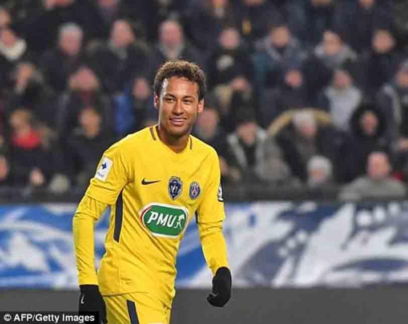 Neymar wants Barcelona return, says club's vice-president
