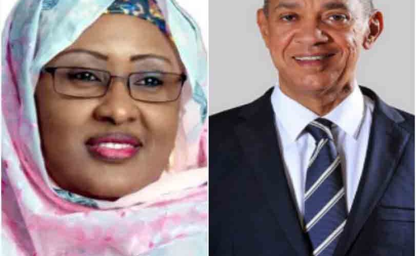 """She does not belong to the 'other room""'Ben Bruce commends Aisha Buhari for reposting videos of himself and another senator criticizing her husband's government"