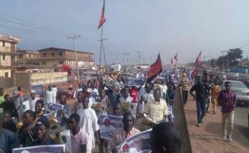 Tension As El-Zakzaky Supporters Shut Down Abuja Again