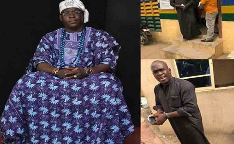 Suspected 'fake' King arrested in Lagos