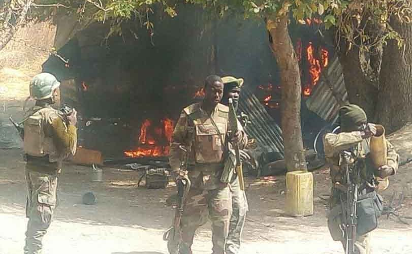 Troops arrest two suicide bombers in Borno