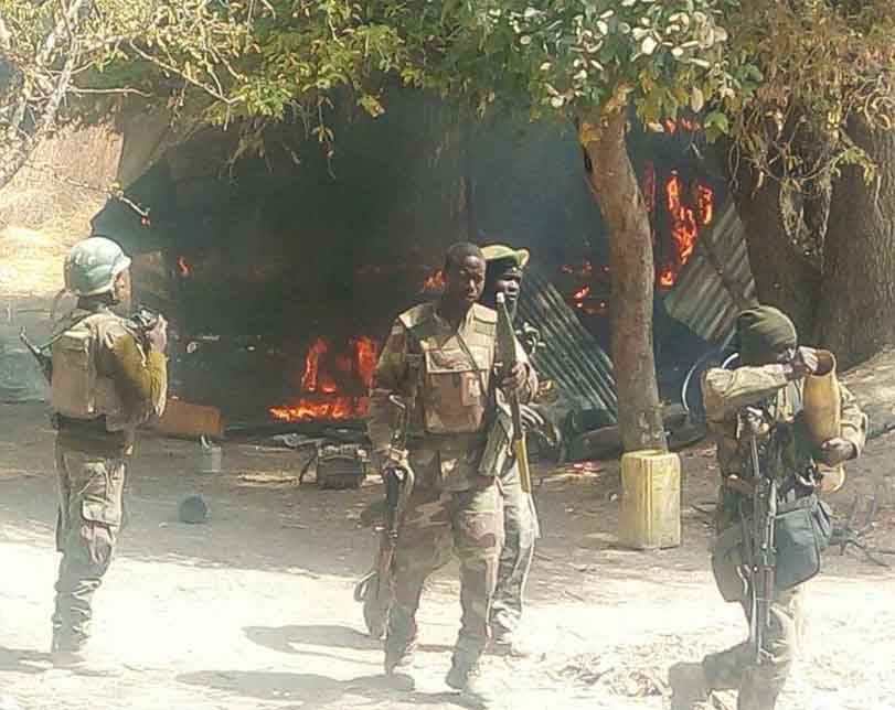 Troops neutralise 3 terrorists, rescue 33