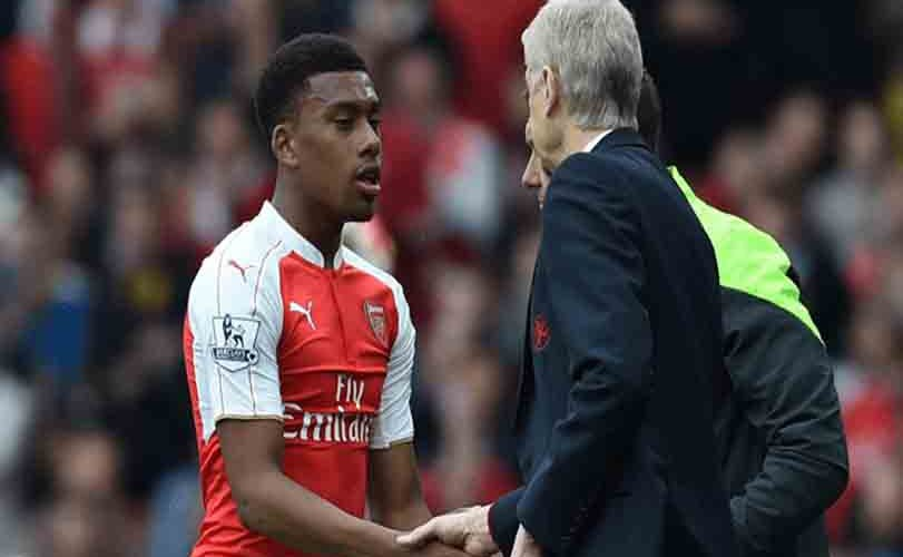 Alex Iwobi faces Wenger's wrath over partying