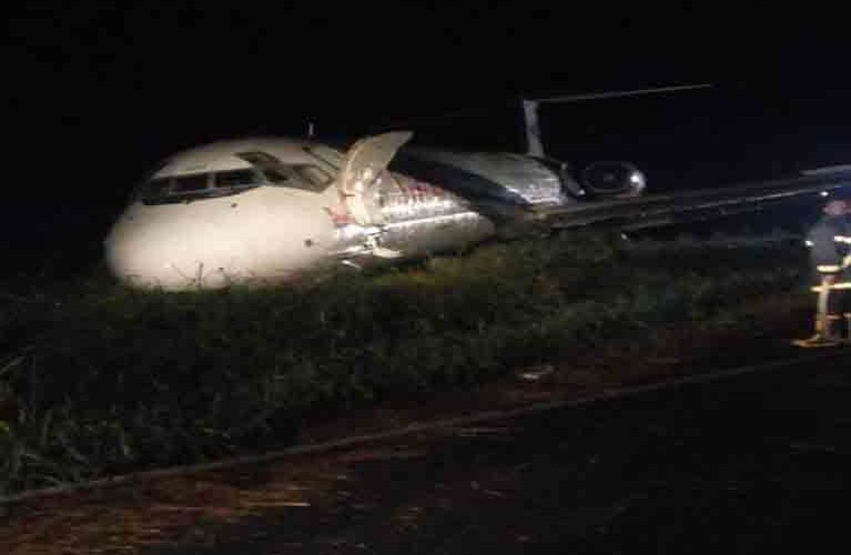 Dana Aircraft Overshoots runway in Port Harcourt