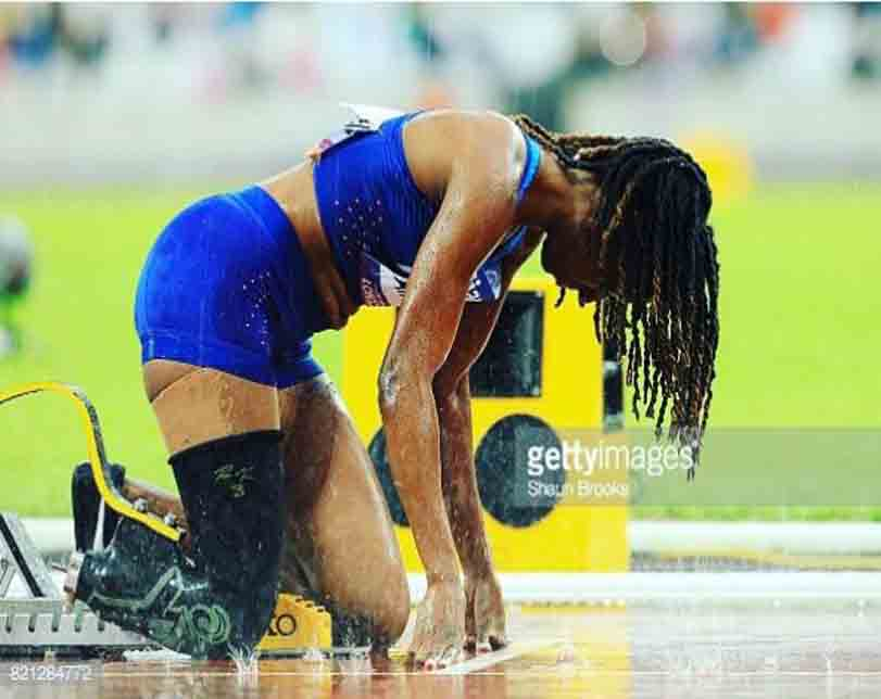 Meet Physically Challenged Nigerian Lady Representing America In Athletics (Photos)