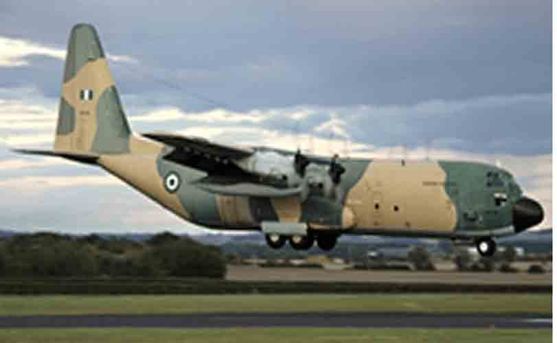 Nigerian Airforce helicopter crash-lands at Yar'adua International Airport In Katsina State