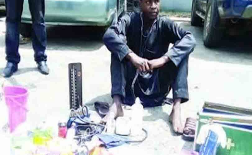 Seriously? Primary School-Leaver 'Practised' As Doctor For 4 Years In Lagos