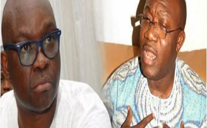 Ekiti APC primary: Don't celebrate yet, Fayose tells Fayemi