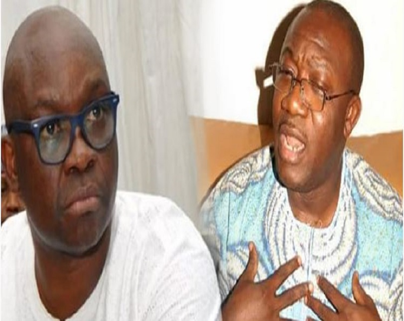 Ekiti APC primary: Don't celebrate yet, Fayose tells Fayemi