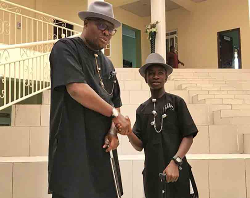 14yrs Boy Assumes Office As Commissioner In Bayelsa (Photos)