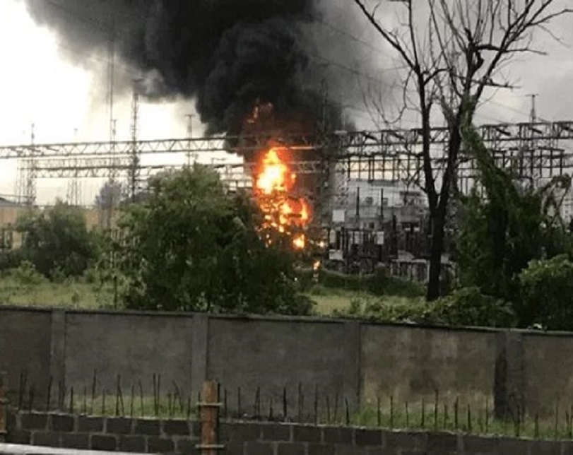 Tragedy As Fire Engulfs BEDC Substation In Effurun, Delta State