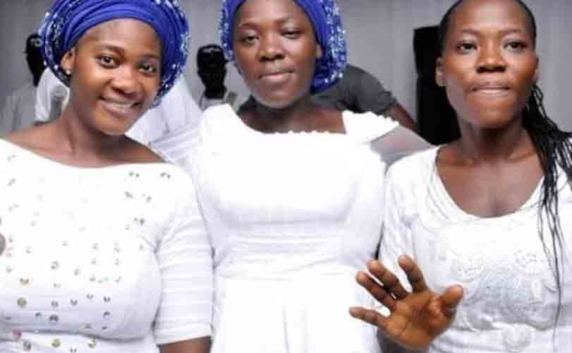 Mercy Johnson & Her Sisters At Their Mother's Burial (Photos)
