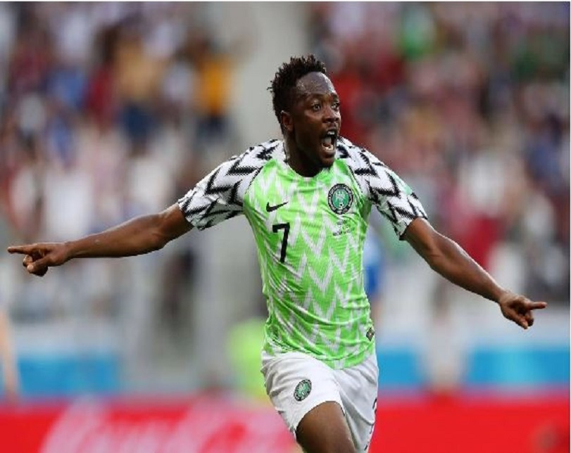 Ahmed Musa's Wonder Goal Ranked 8th Best At The World Cup 2018