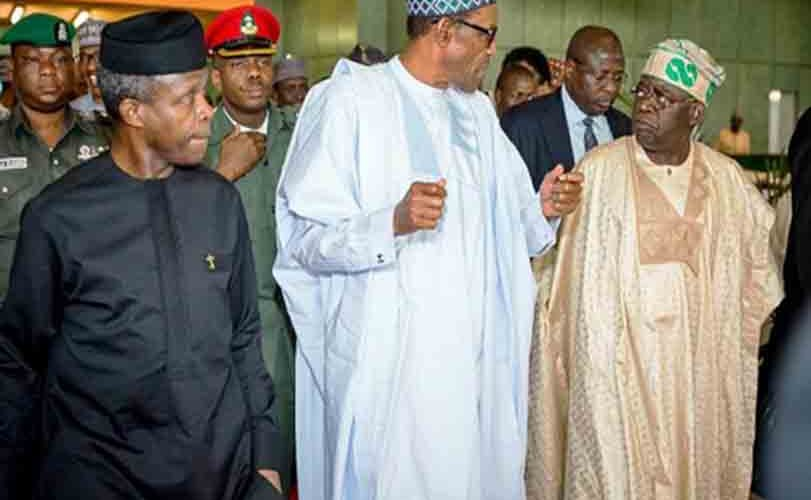 President Buhari, Osinbajo, Tinubu, Others In Crucial APC NEC Meeting