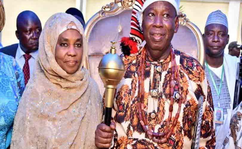 Kano State Governor, Umar Ganduje Bags Igbo Chieftancy Title In Abia (Photos)