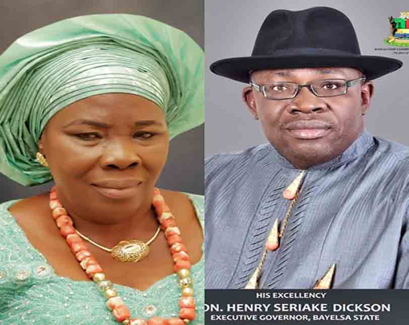 Bayelsa State Governor, Dickson Loses Mother To Cancer