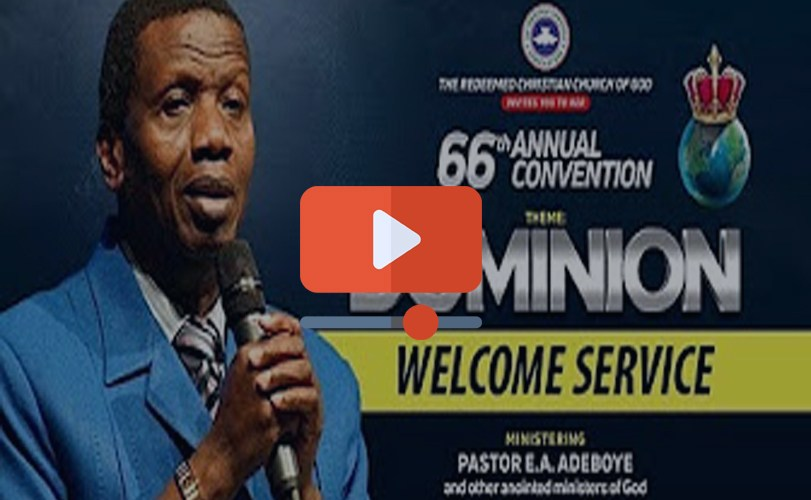 DAY 2 RCCG Holy Ghost Convention 2018 – WELCOME SERVICE
