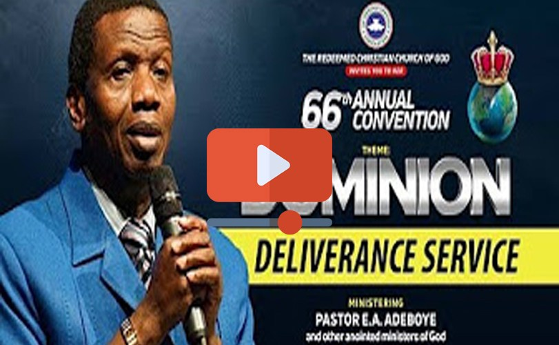 DAY 4 RCCG Holy Ghost Convention 2018 – Deliverance Service