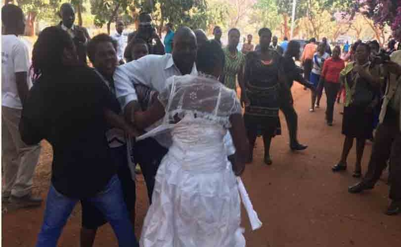 Bride And Groom's Mother Fight Dirty Over Food On Wedding Day