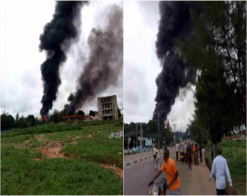 Five Injured As Gas Explosion Rocks Popular Shopping Mall In Rivers (Video)