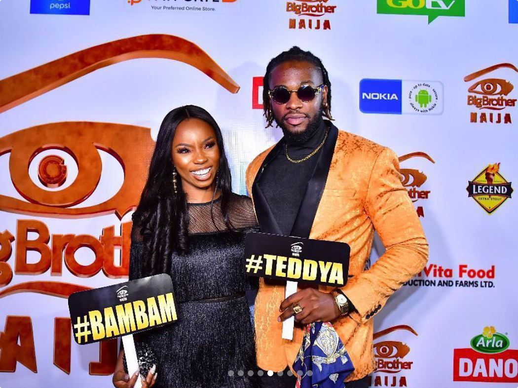 Is BBNaija Star, Bambam Truly In Love With Ex Housemate Teddy A? Check Out What They Have To Say