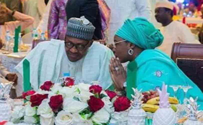 Aisha Buhari Hosts Artistes Supporting President Buhari In Abuja (Photos)