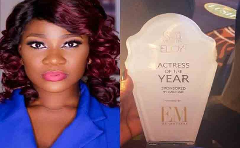 Mercy Johnson Wins Actress Of The Year At Eloy Awards 2018