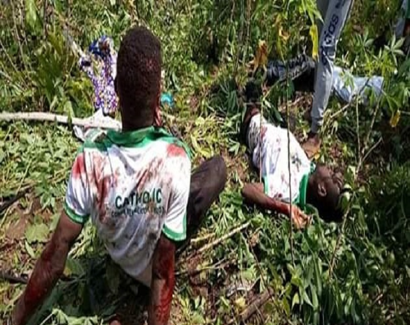 NYSC Members Involved In Ghastly Auto Accident In Akwa Ibom (Photos)