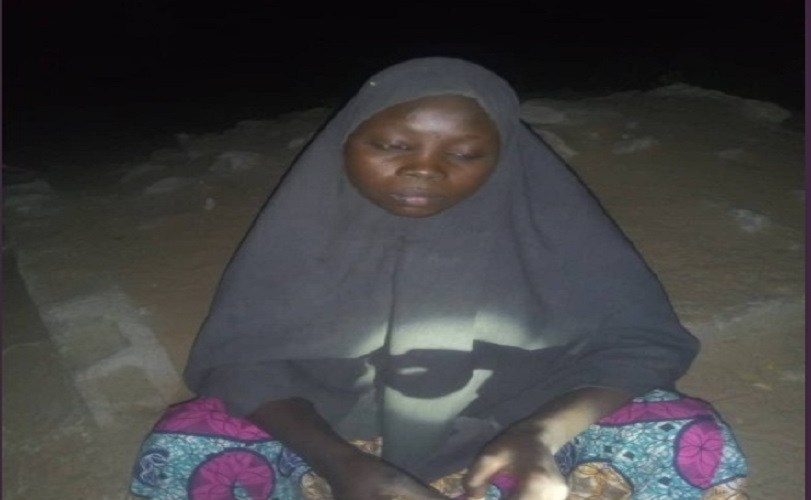 Female Suicide Bomber In Hijab Apprehended Near UNIMAID In Borno (Photos)
