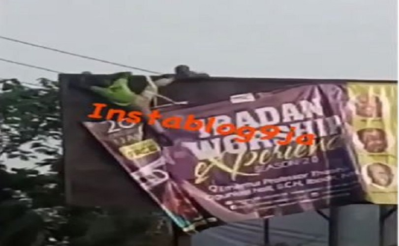 Suicidal Man Rescued While Trying To Electrocute Himself In Ibadan (Video)