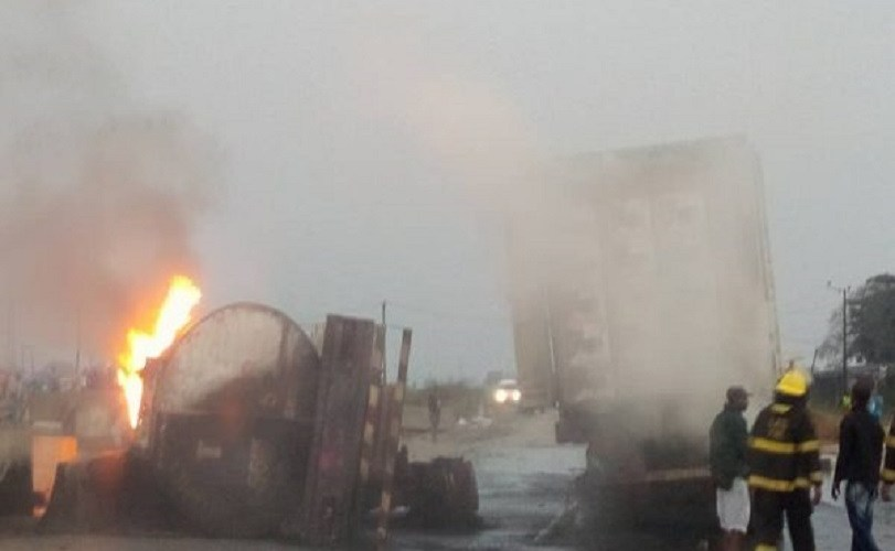 Two killed in Lagos tanker explosion