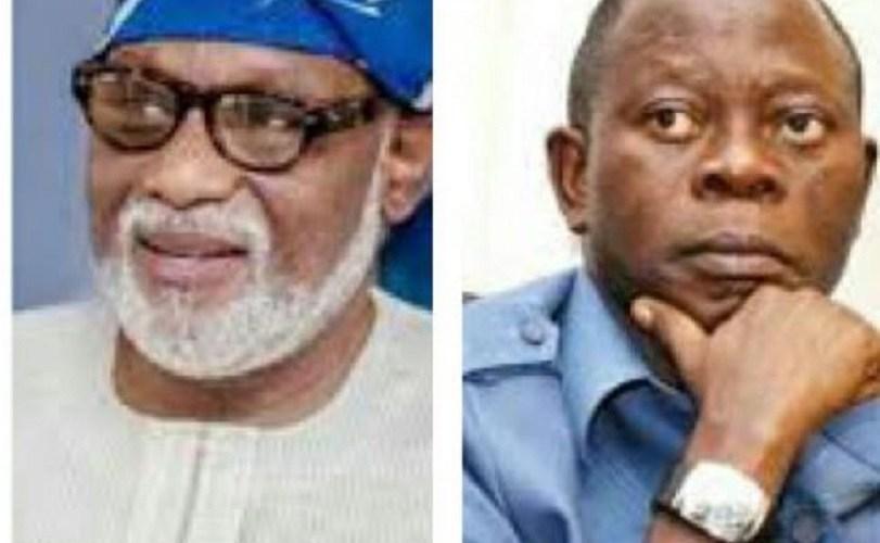 2019: Akeredolu/Oshiomhole Rift Threatens APC Chances In Ondo