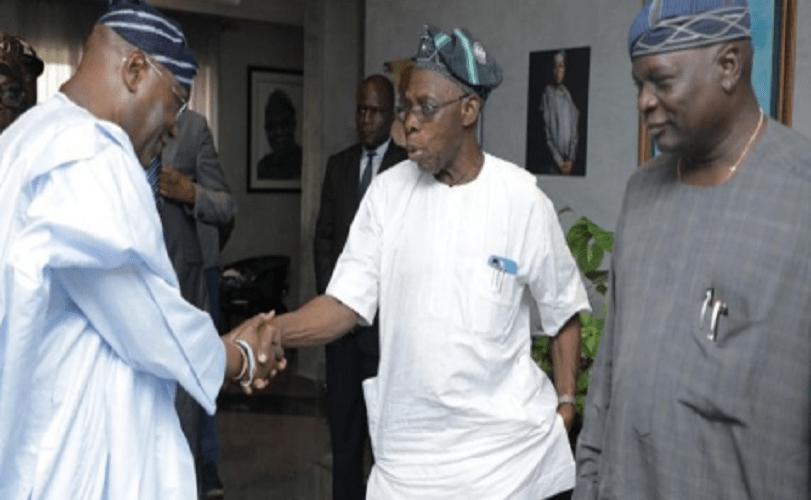 Atiku Visits Obasanjo At Home (Photos)