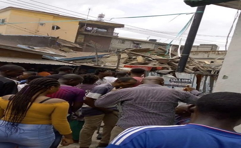 Another Building Collapses In Lagos Island (Photos)