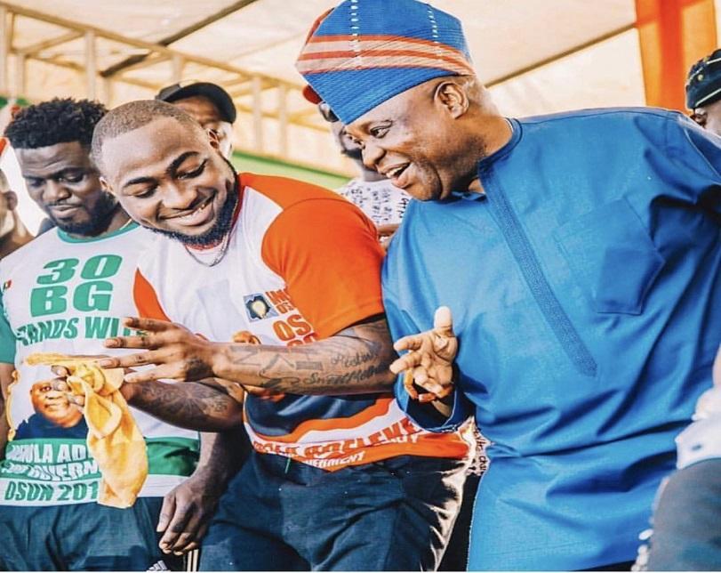 Davido hails Osun election tribunal judgement, says 'Mandate returned'