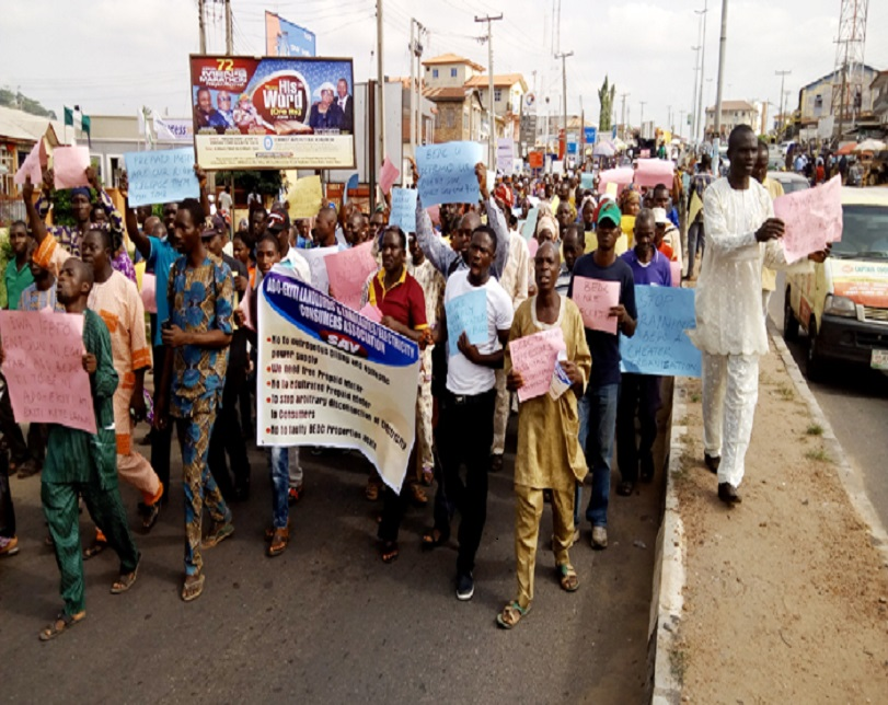 Ekiti teachers protest non-payment of salaries