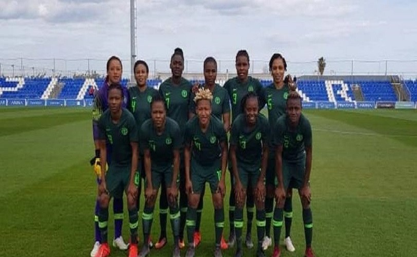 Super Falcons of Nigeria lose 1-2 to Canada in a friendly game ahead of 2019 FIFA Women's Cup