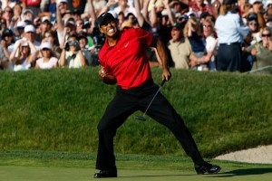 Woods wins 15th major title