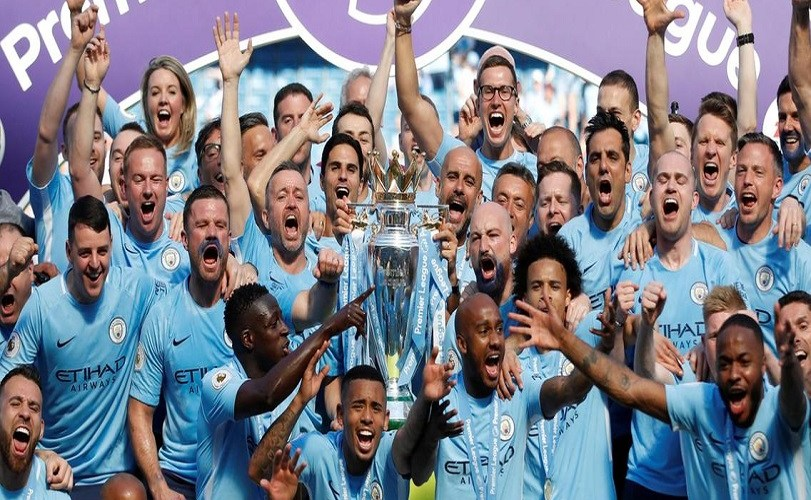 City win thrilling EPL title race, break Liverpool hearts