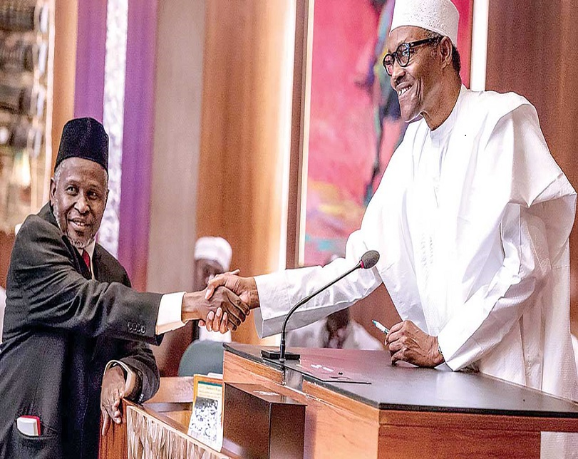 Court refuses to stop Buhari from swearing in Tanko Muhammad as substantive CJN